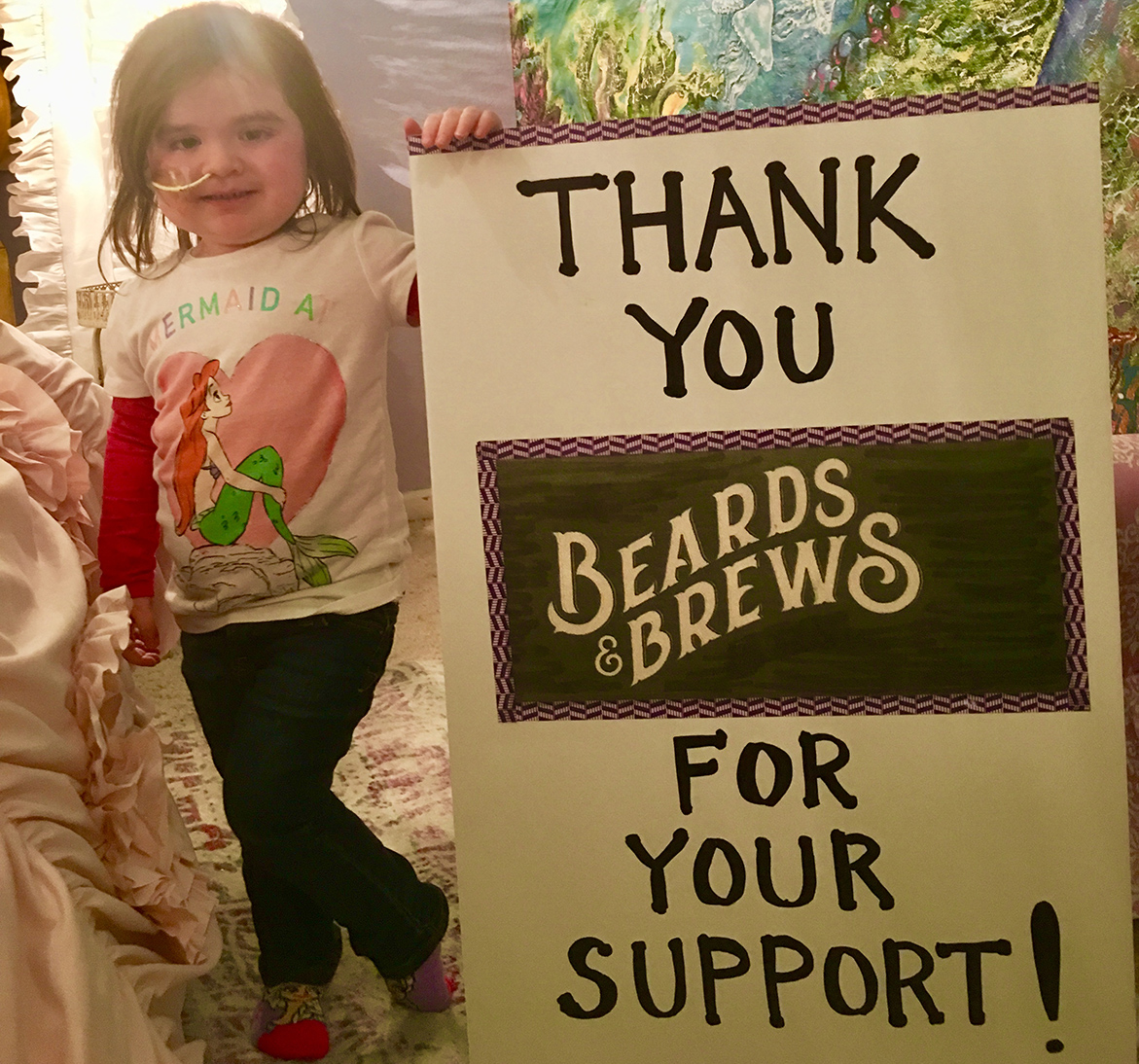 Beards and Brews Event: Benefiting Rooms of Hope