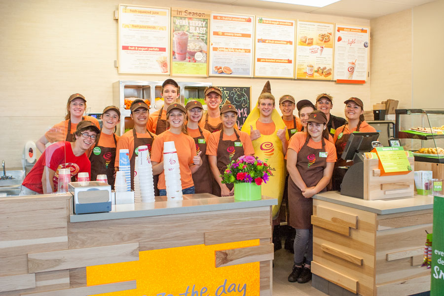 Jamba Juice employees